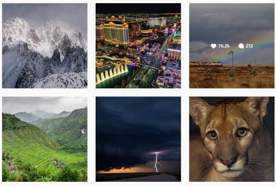 Best brands on Instagram: National Geographic