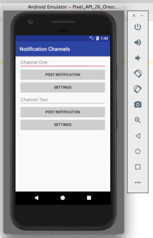 بناء تطبيق إحترافى يدعم الإشعارات بإحترافية عبر  اندرويد ستوديو