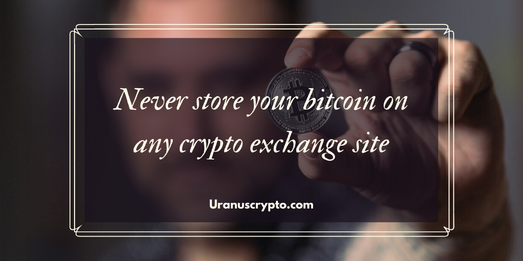 storing your bitcoin securely