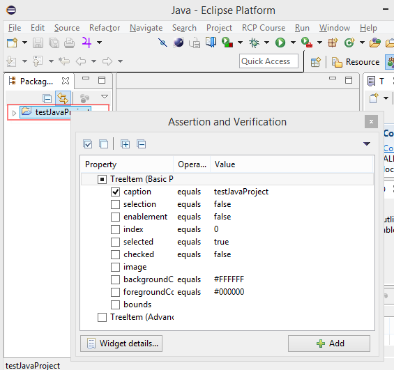 RCP Testing Tool (RCPTT) - EclipseSource