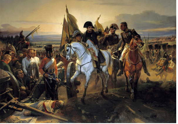 Image of At the Battle of Friedland on June 14, 1807, Napoleon I ordered General Nicolas Charles Udinot (1767-1847) to pursue the Russian army. Painting by Emile Dit Horace Vernet (1789-1863), 19th century. Oil on canvas © Bridgeman Images