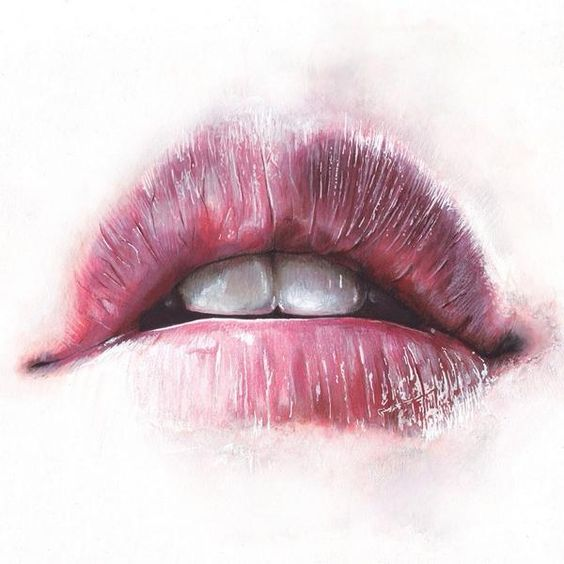 realistic lip sketching