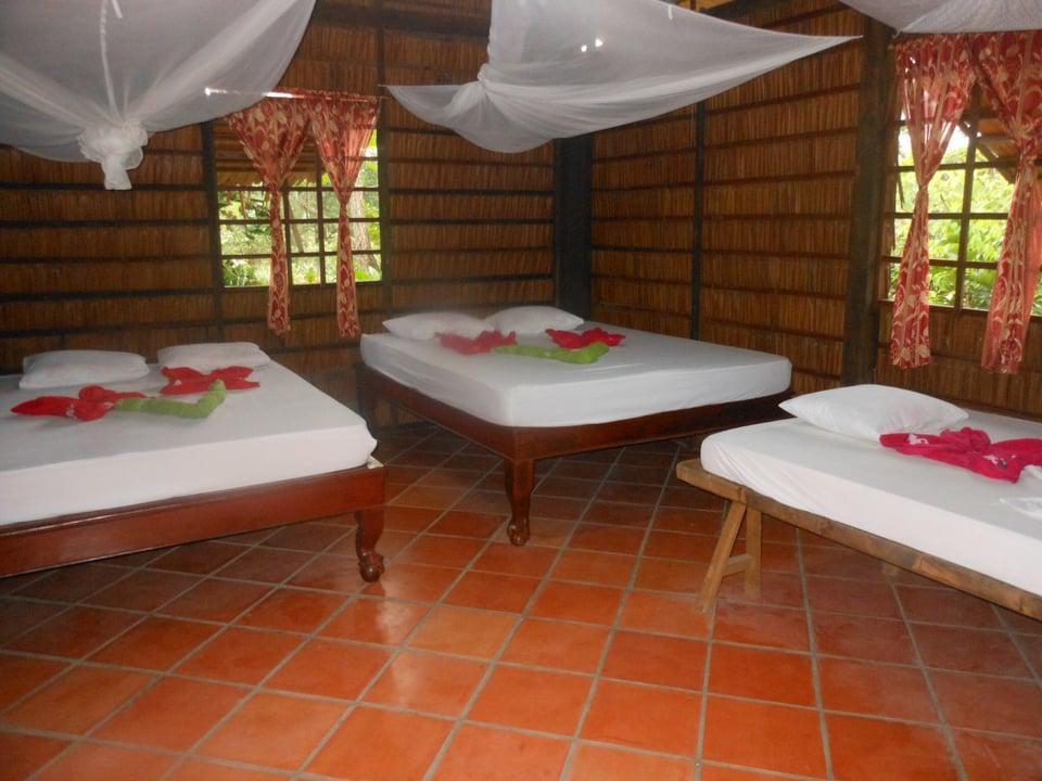 Phòng ngủ tại Ngọc Phượng Homestay