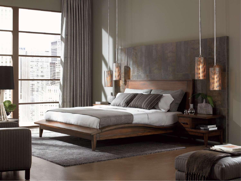 Inspirasi kamar tidur modern - source: thespruce.com