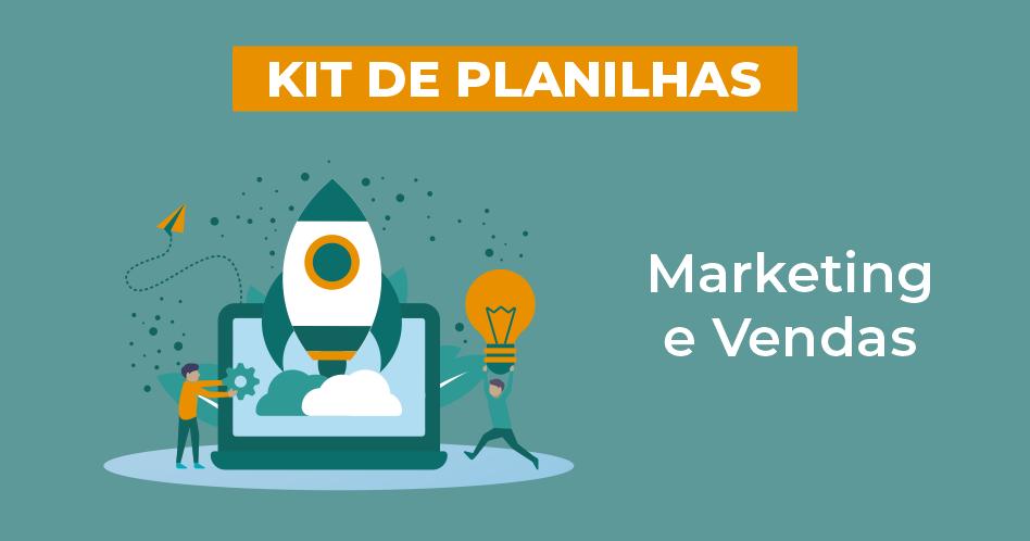 banner do kit de planilha marketing e vendas