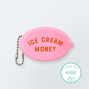 Image of Ice Cream Money Coin Pouch