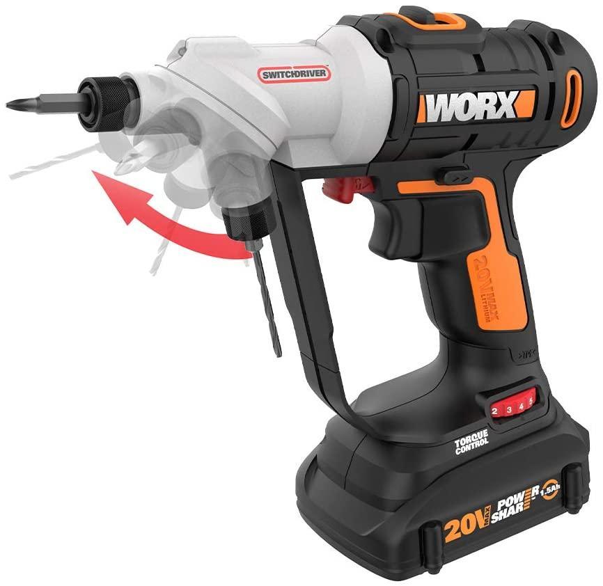 WORX WX176L Combi drill
