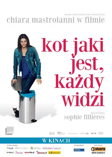 Polski plakat filmu 'Kot Jaki Jest, Każdy Widzi'