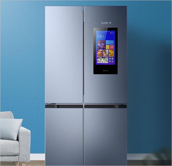 Xiaomi ra mắt tủ lạnh 4 cánh, trang bị luôn cả màn hình điện tử để xem phim, nghe nhạc - Ảnh 1.