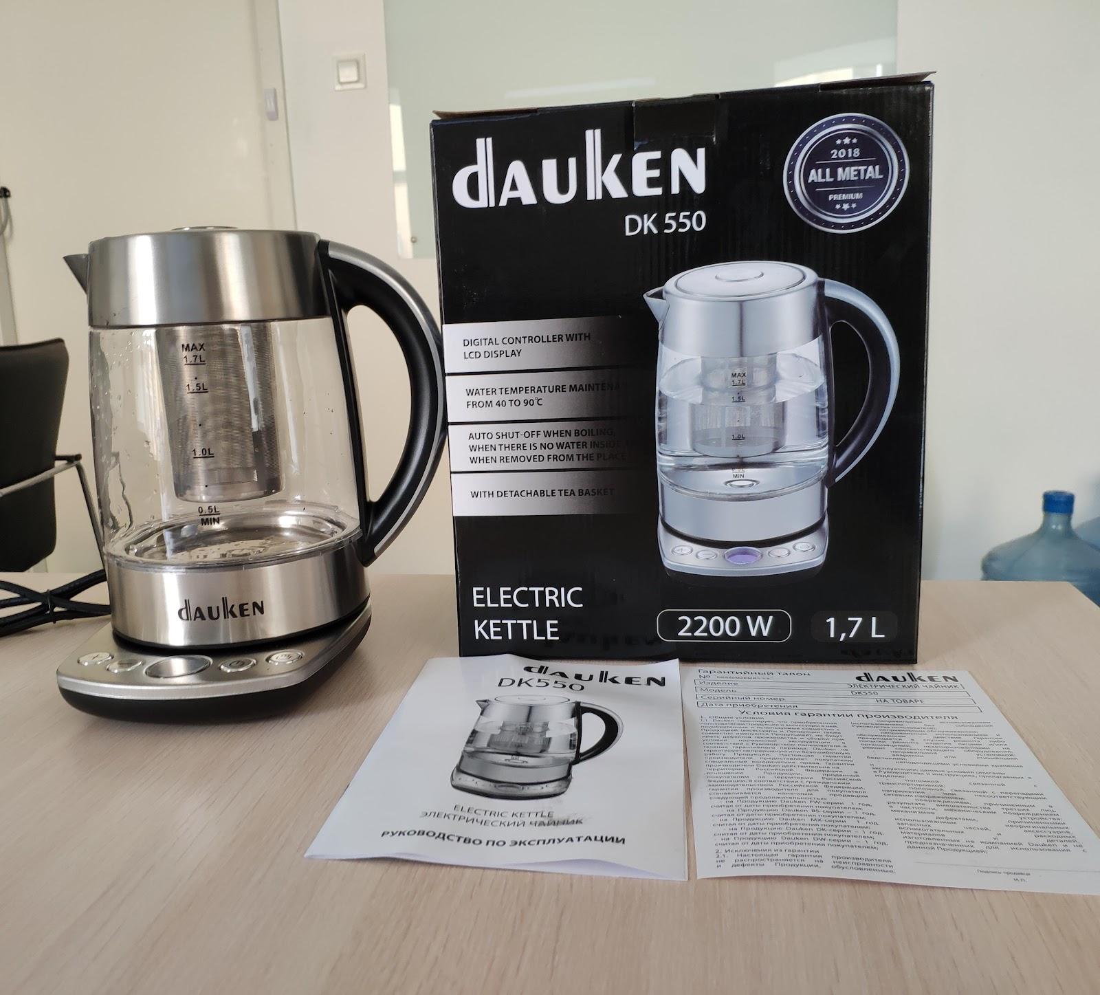 Новый член семьи Dauken DK550