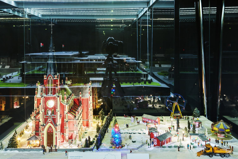 Новый год в музее миниатюр Белоруссии