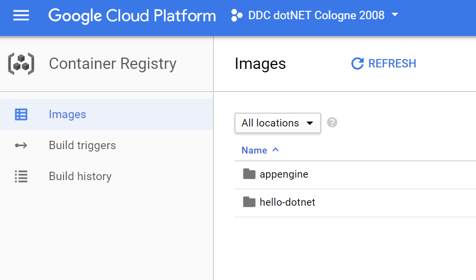 Deploy ASP NET Core app to Google Kubernetes Engine with