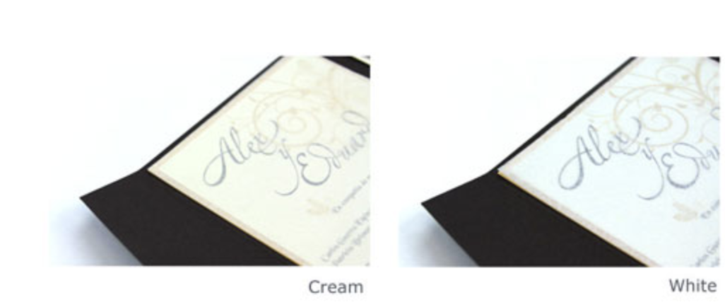tissue paper invitation