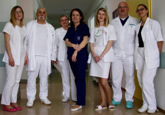 C:\Users\Marge\ownCloud\Campaign Team Folder\Logos & Images\Images Newsletters 2019\Newsletter July 2019\SLOVENIA Medical team at hospital NL 23 July 2019.JPG