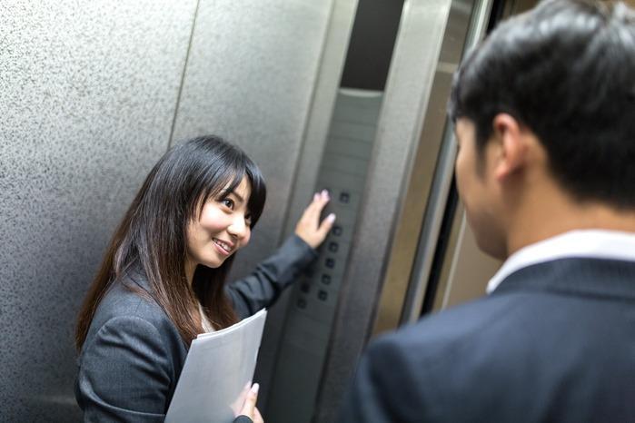 Văn hóa đi thang máy ở Nhật