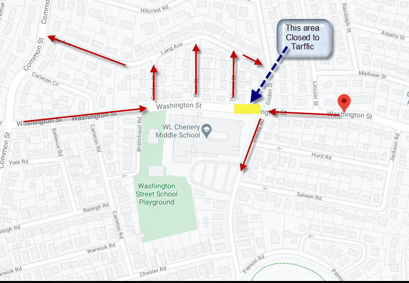 CMS Neighborhood Map