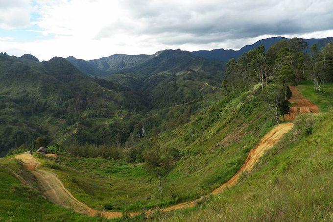 Mountains of Papua New Guinea. Courtesy of Fr. Christian Sieland.
