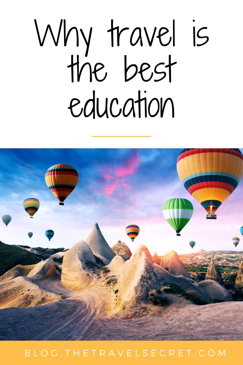 Why travel is the best education