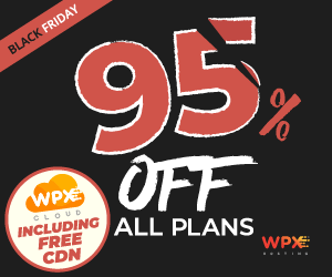 wpx hosting black friday sale