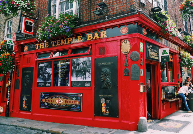 2020年 3~6個月遊學優惠方案!愛爾蘭都柏林 temple bar gogoenglish