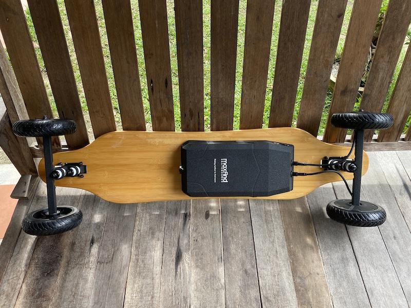 Maxfind M6 Drive Kit is a Lightweight All-terrain Electric Skateboard