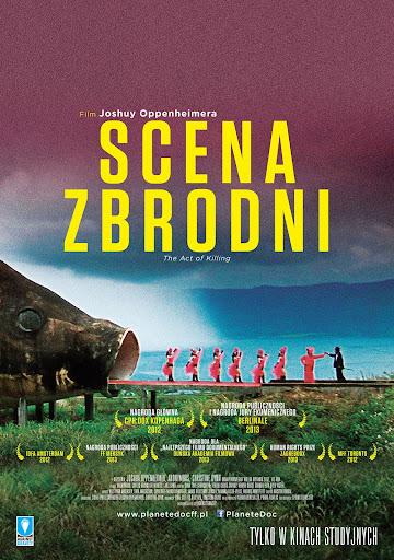 Polski plakat filmu 'Scena Zbrodni'