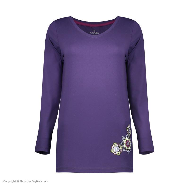 ست تی شرت و شلوار راحتی زنانه ناربن مدل 1521282-69