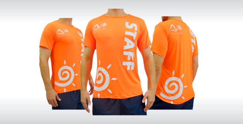Camiseta Personalizada para Brindes Produzida por Ecco Bolsas