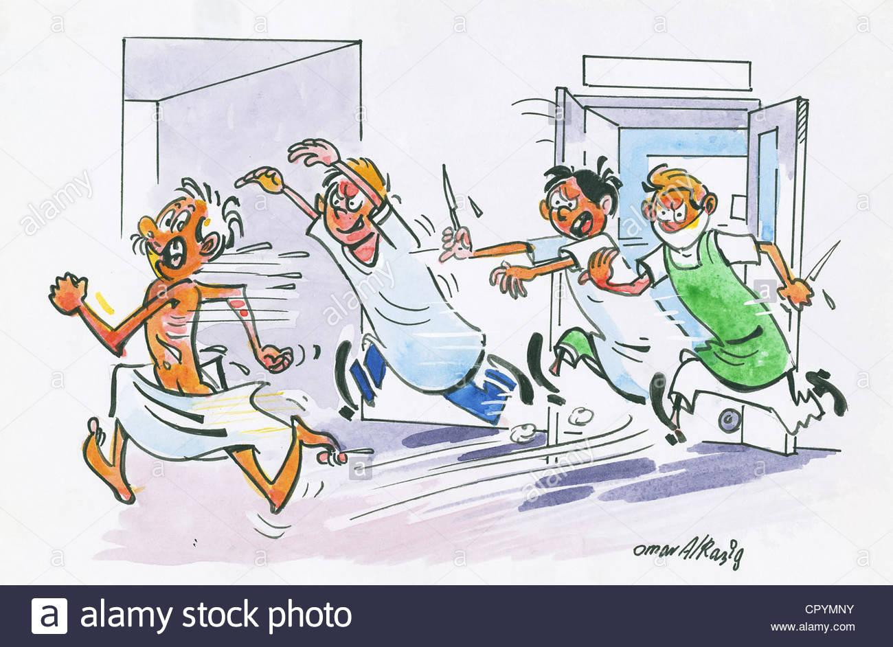 Scared Of Doctors Cut Out Stock Images & Pictures - Alamy