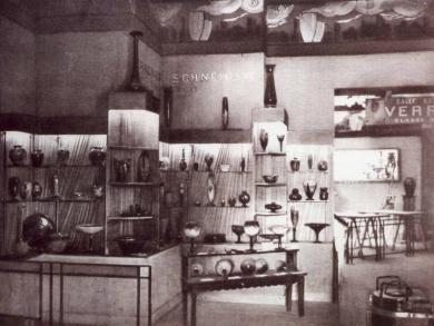 Verrerie Schneider à l'Exposition universelle de Paris en 1929