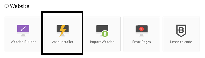 2. Now, scroll down and click on Auto-installer.