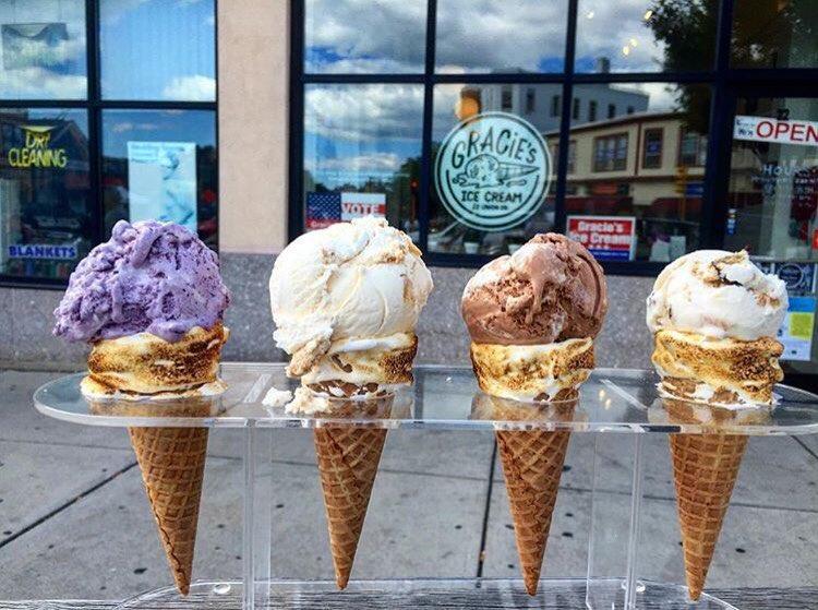 icecream and food