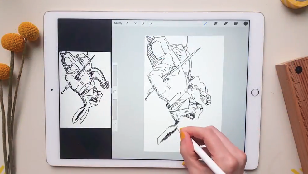 rabbit drawing prompts