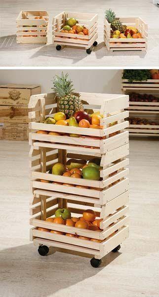caixa de madeira reciclada