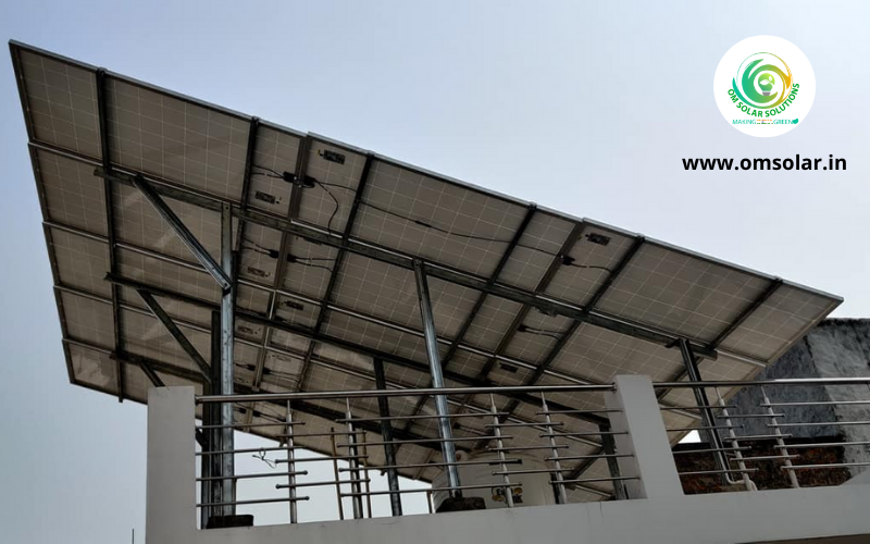 5KW Solar Power Installation in UP