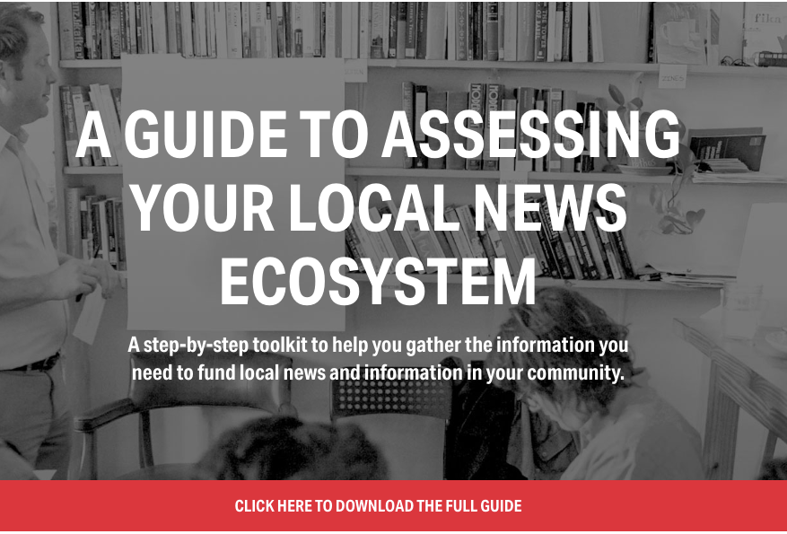Click on this image to open the ecosystems mapping guide from Democracy Fund.