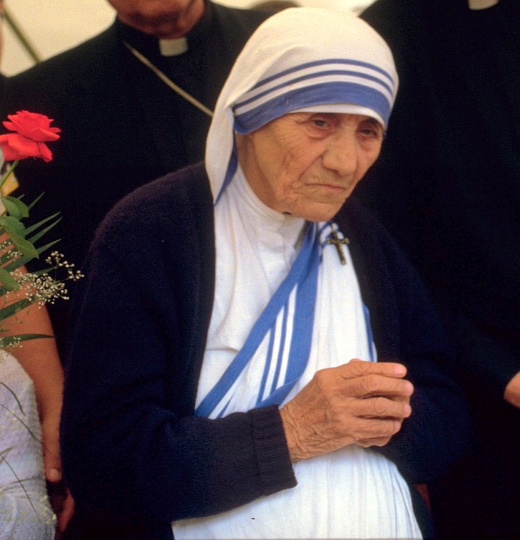 """""""I can't believe how often I'm misquoted."""" - also not Mother Teresa"""