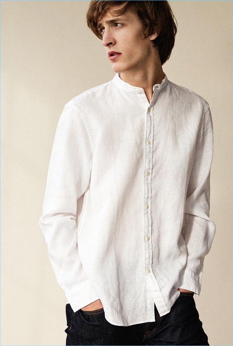 Chọn được đúng loại áo sơ mi nam vải đũi chưa bao giờ là dễ dàng cả