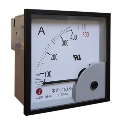Đồng hồ đo dòng điện (Ampe kế) BE-96 400/5A Taiwan Meter