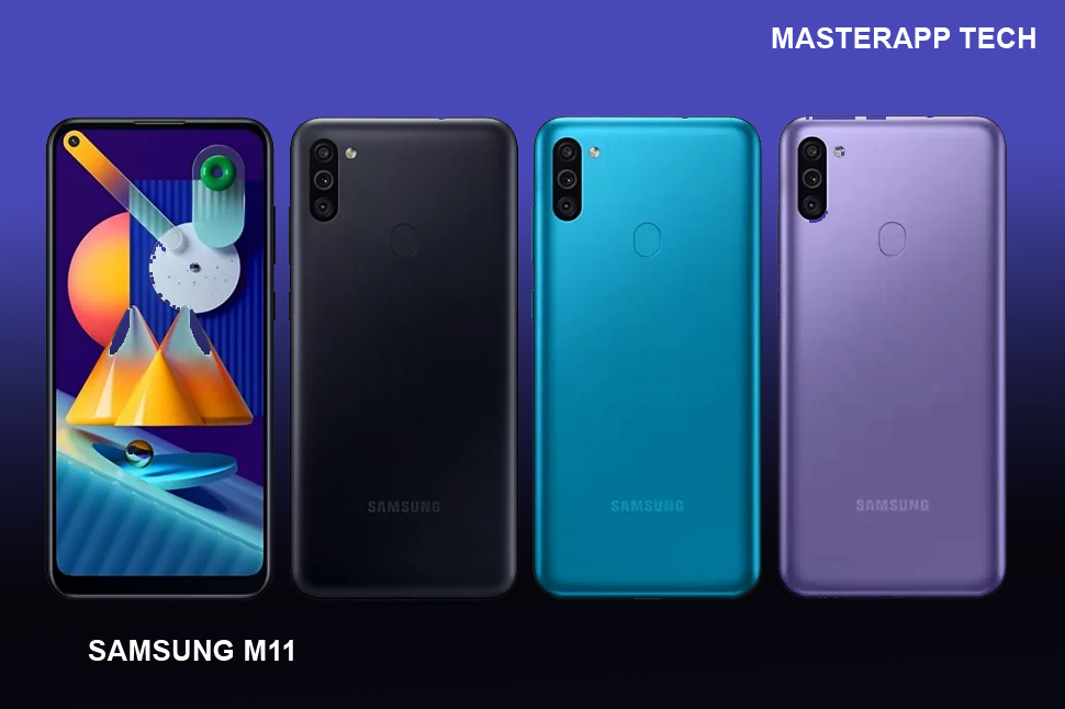 Galaxy M11 Available Color modules
