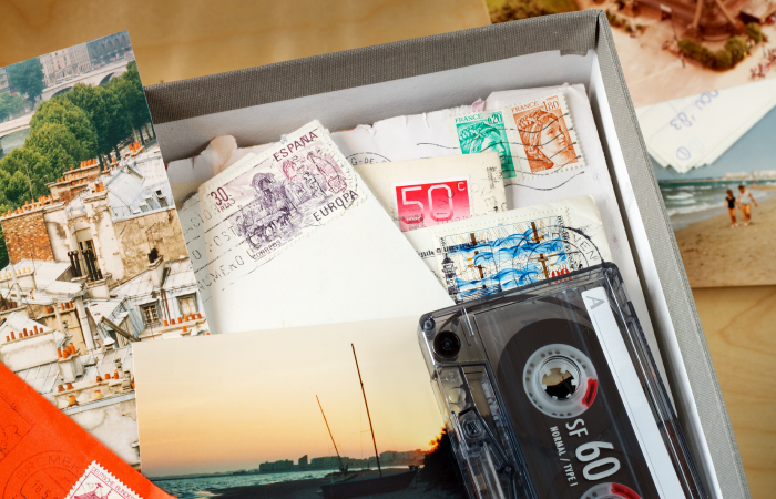 When you declutter before moving, don't get hung up on sentimental items.