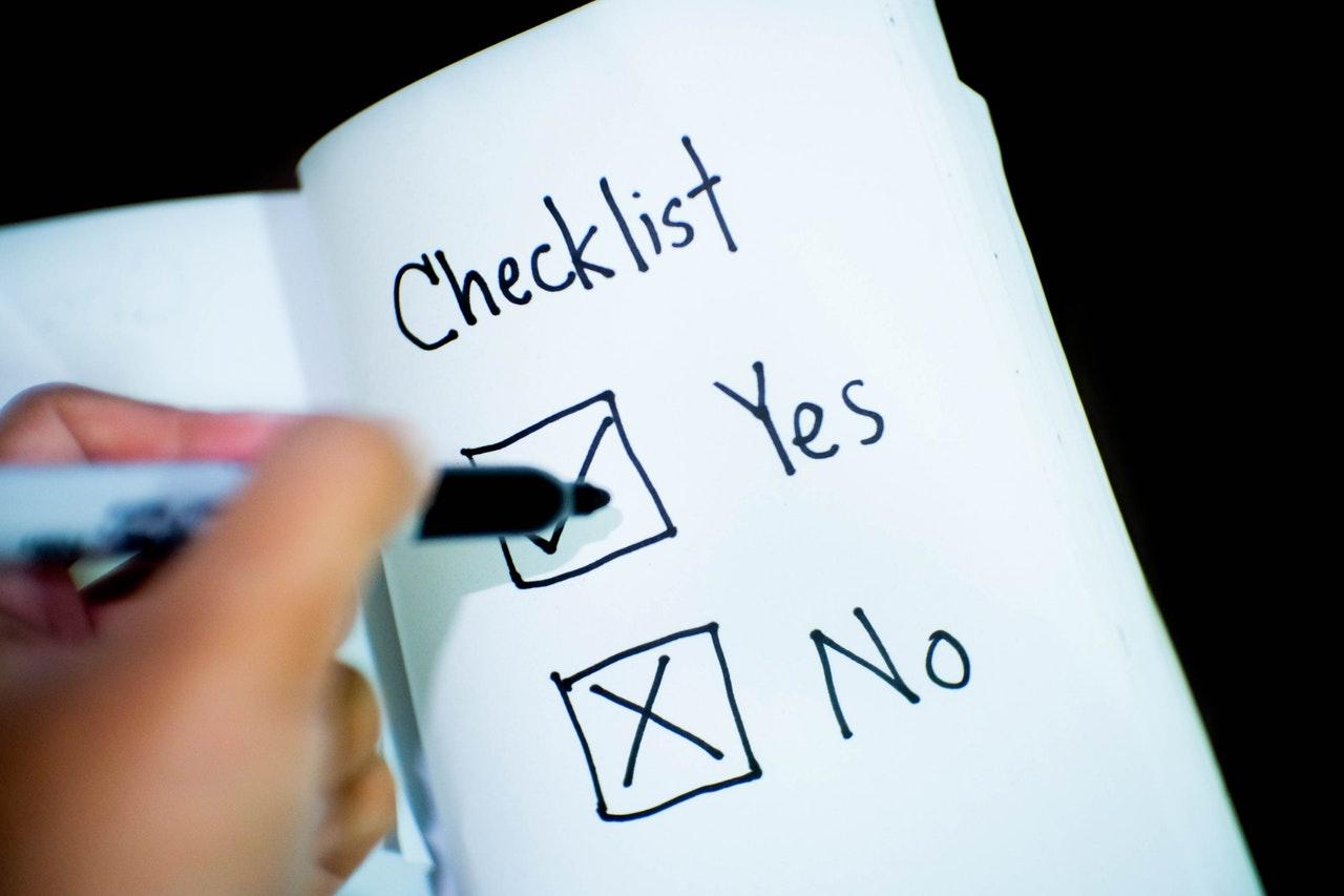 Checkliste Kano-Modell