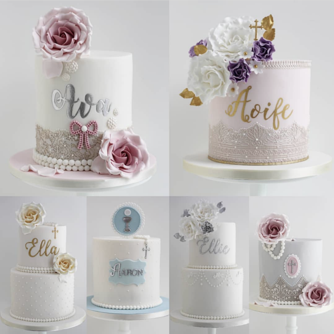 stunning Communion cakes