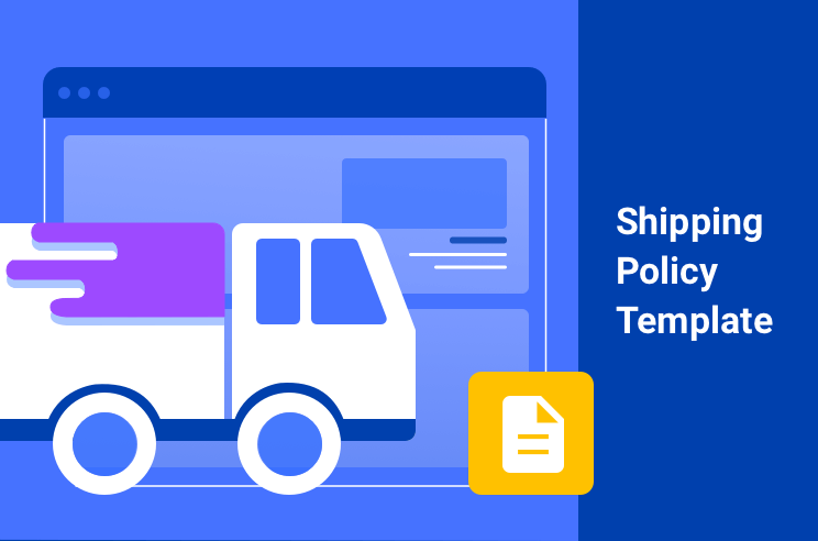 Shipping policy sample