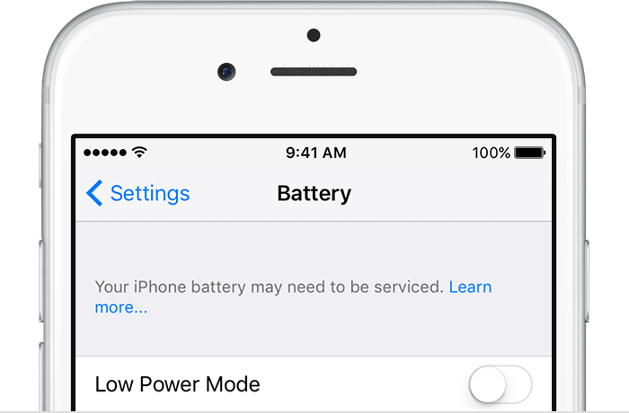 apple battery appointment