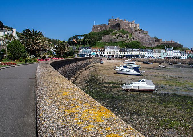 Gorey, Jersey, Harbour, Castle, Island