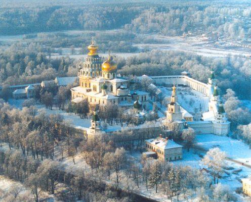 Ново-Иерусалимский монастырь. Саввино-Сторожевский монастырь. 23 декабря 2017г.