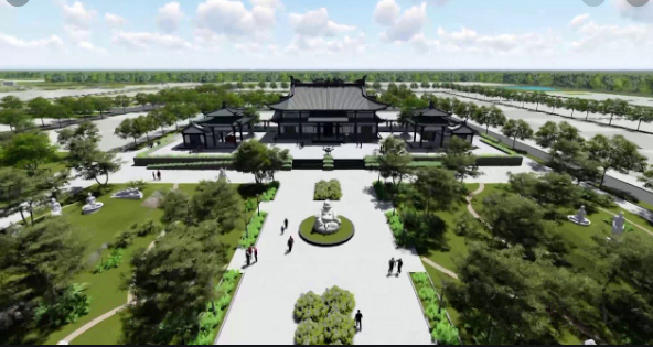 Nghĩa trang Vĩnh Hằng - Long Thành là nghĩa trang lớn nhất Việt Nam