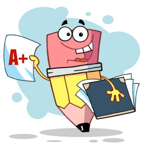 pencil_student_holding_books_and_report_card_with_good_grades_0521-1001-2611-1703_SMU.jpg