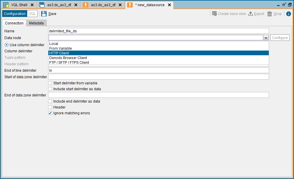 How to connect to the Amazon S3 REST API from Denodo